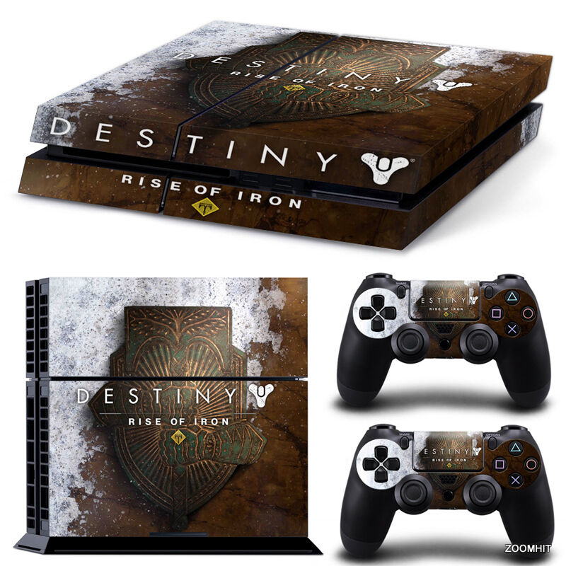 PS4 Playstation 4 Console Skin Decal Sticker Destiny Rise ...