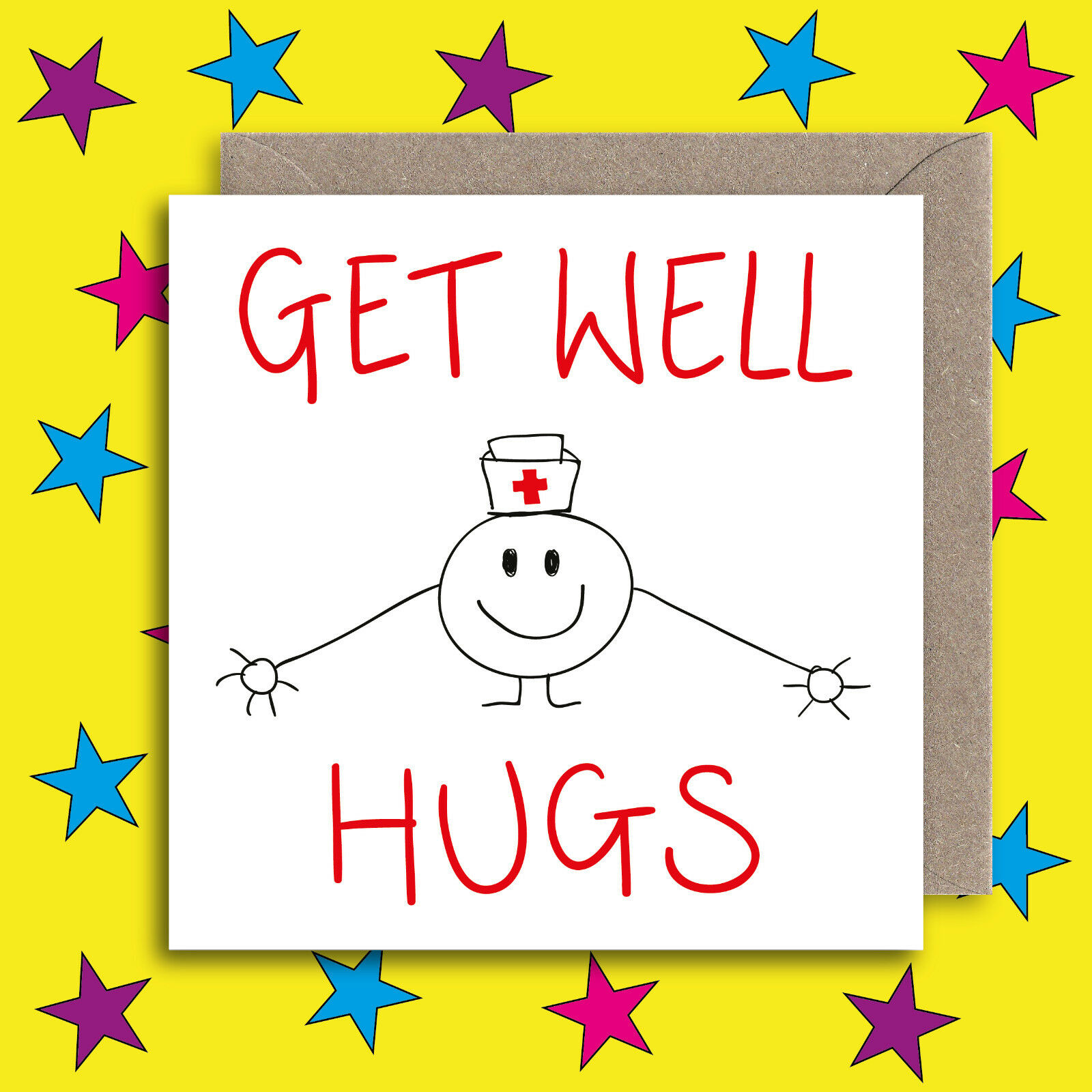 Cute Get Well Card Funny Get Well Soon Card Recover Opperation