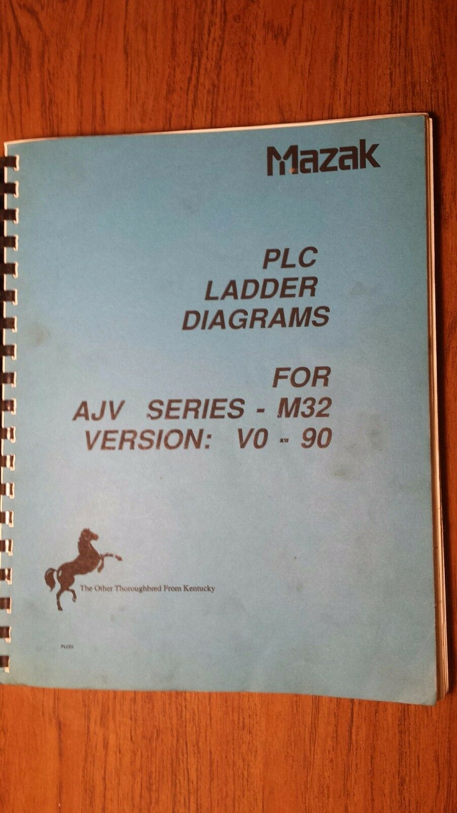 Mazak Ajv Series M32 Plc Ladder Diagrams Version Vo 90 4000 1 Of 1only Available