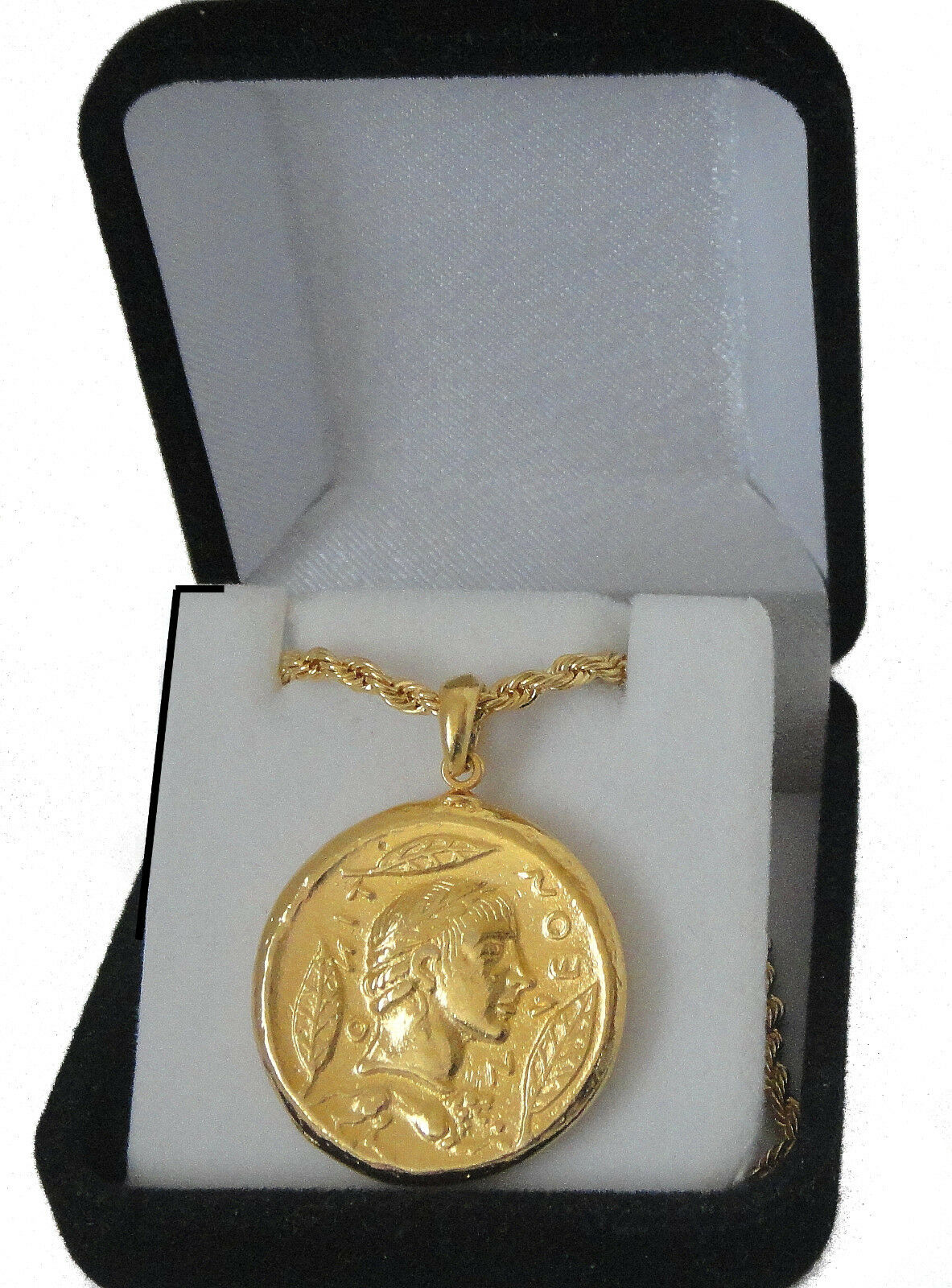 Percy Jackson Necklace,APOLLO & Charioteer,God of the Sun,Pendant and Chain,27-G