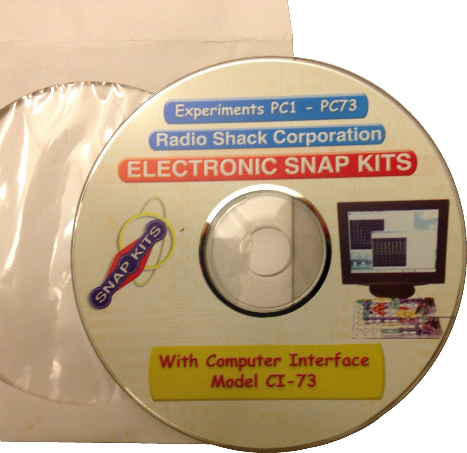 Snap Circuits Cd Experiments Pc1 Pc73 For Model Ci 73 What Are 1395 1 Of 3