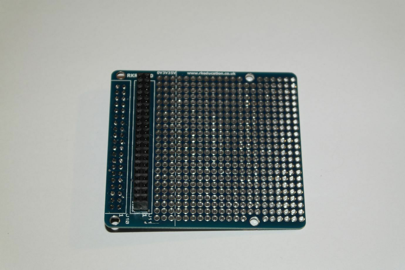 Rkrppt40 Gpio Breakout Prototype Pcb For Raspberry Pi B A 40 Pins 10 Pcs 50mmx70mm Single Side Copper Cover Circuit Board Stripboard 1 Of See More