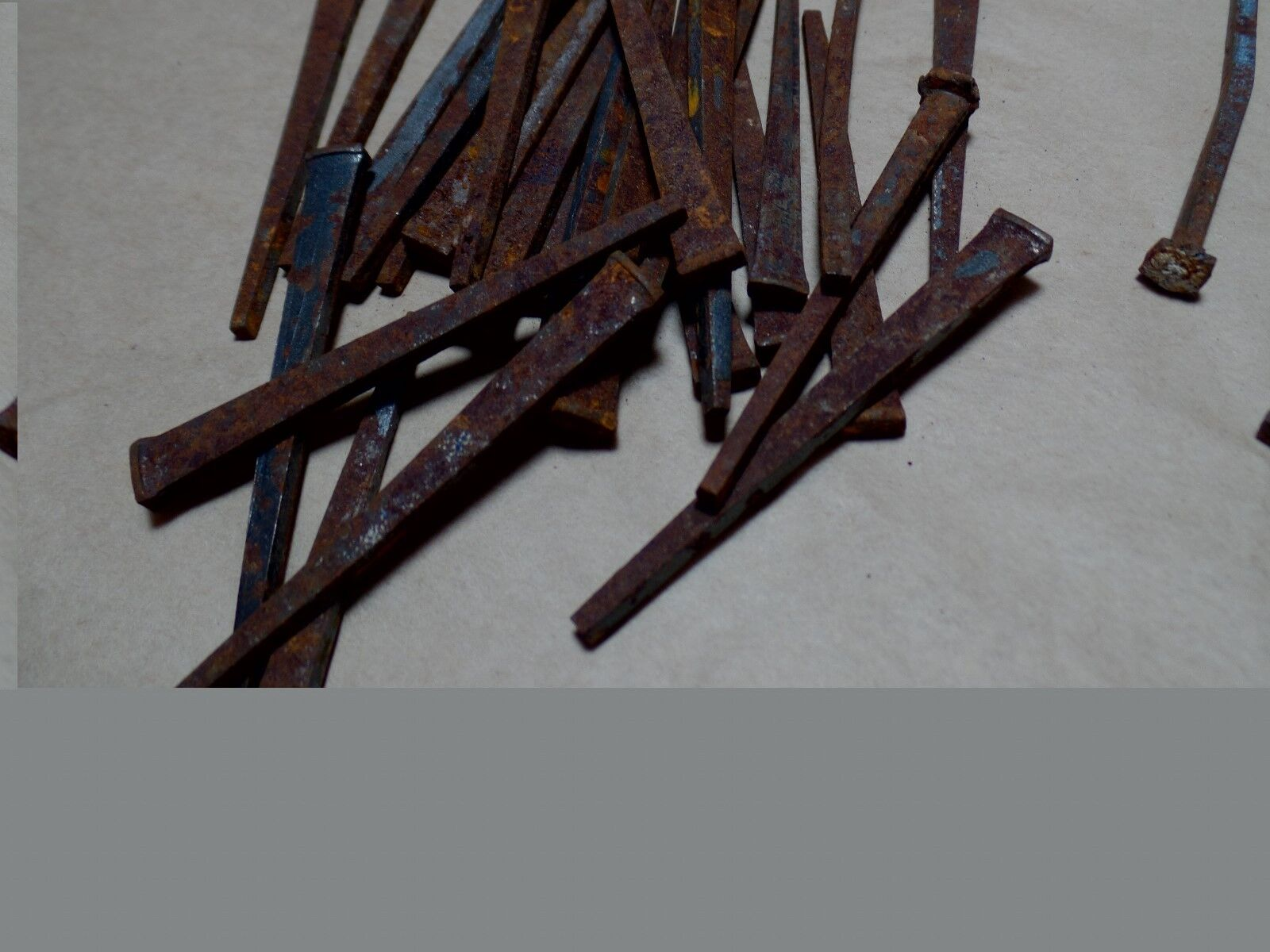 """Antique Square Nail 1.80"""" Lot of 100"""