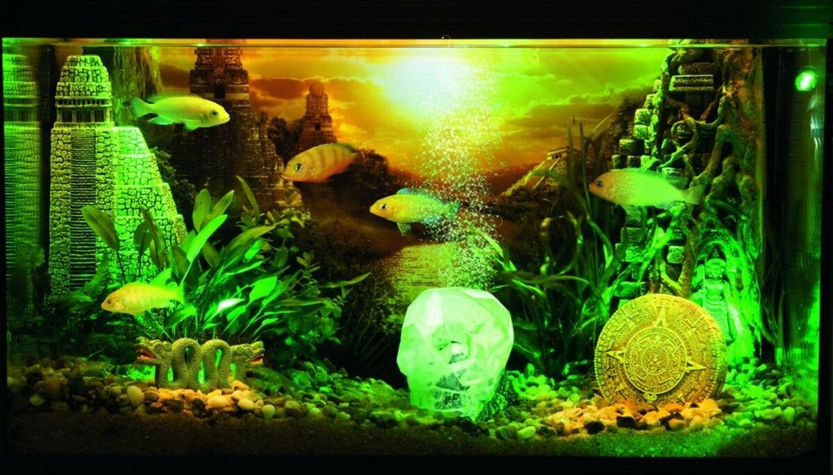 LOST CIVILISATION  HYDOR AQUARIUM DECORATIONS (Complete Underwater Theme)