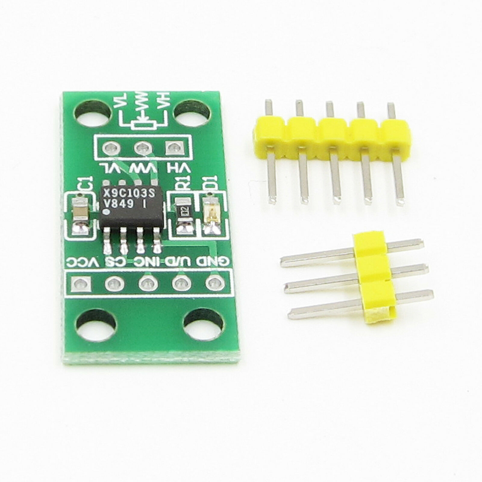 Dc3v 5v X9c103s Digital Potentiometer Board Module For Arduino Antietching Pcb Circuit Ink Marker Pen Diy 1 Of 4 See More