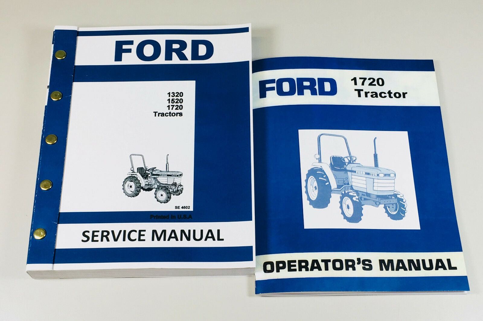 Set Ford 1720 Tractor Service Operators Owners Repair Shop Manual Repair  Books 1 of 9FREE Shipping Set Ford 1720 Tractor ...
