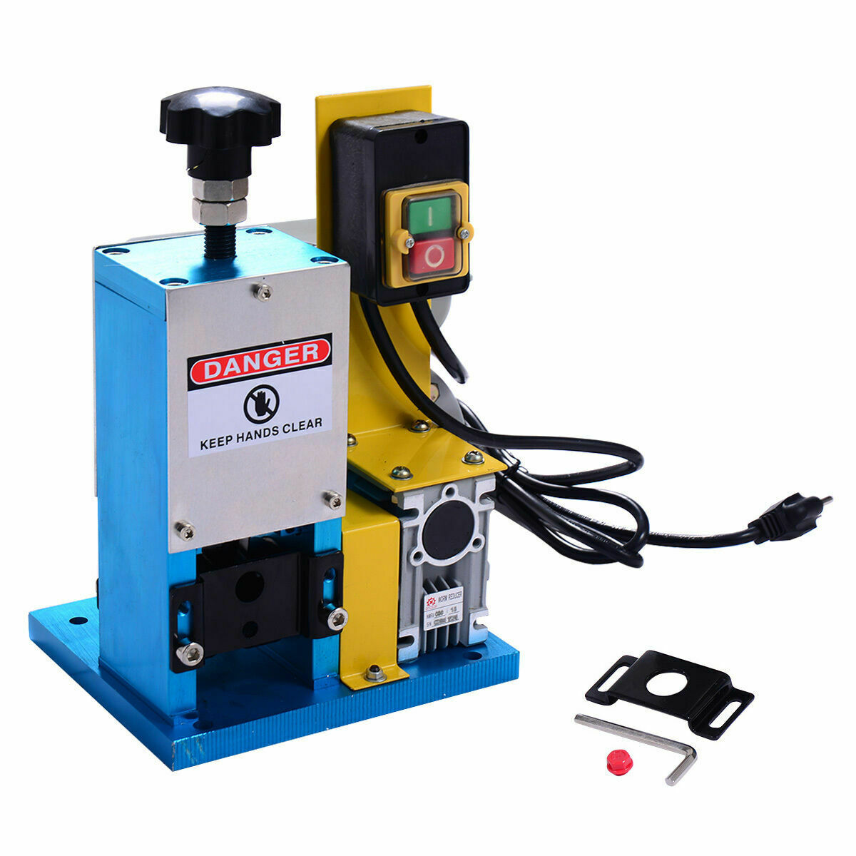 Powered Electric Wire Stripping Machine Metal Tool Scrap Cable Harness Stripper Portable 1 Of 10free Shipping