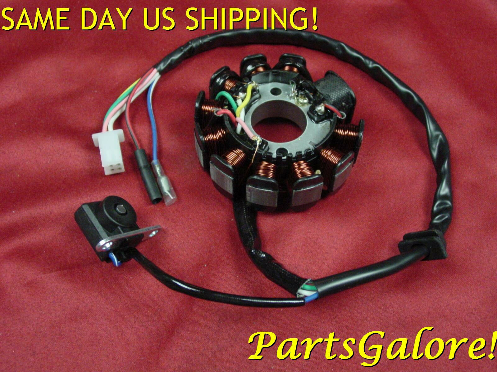 Stator 11 Coil 6 Wire 125 125cc 150 150cc Gy6 Honda Scooter Atv Wiring 1 Of 7free Shipping