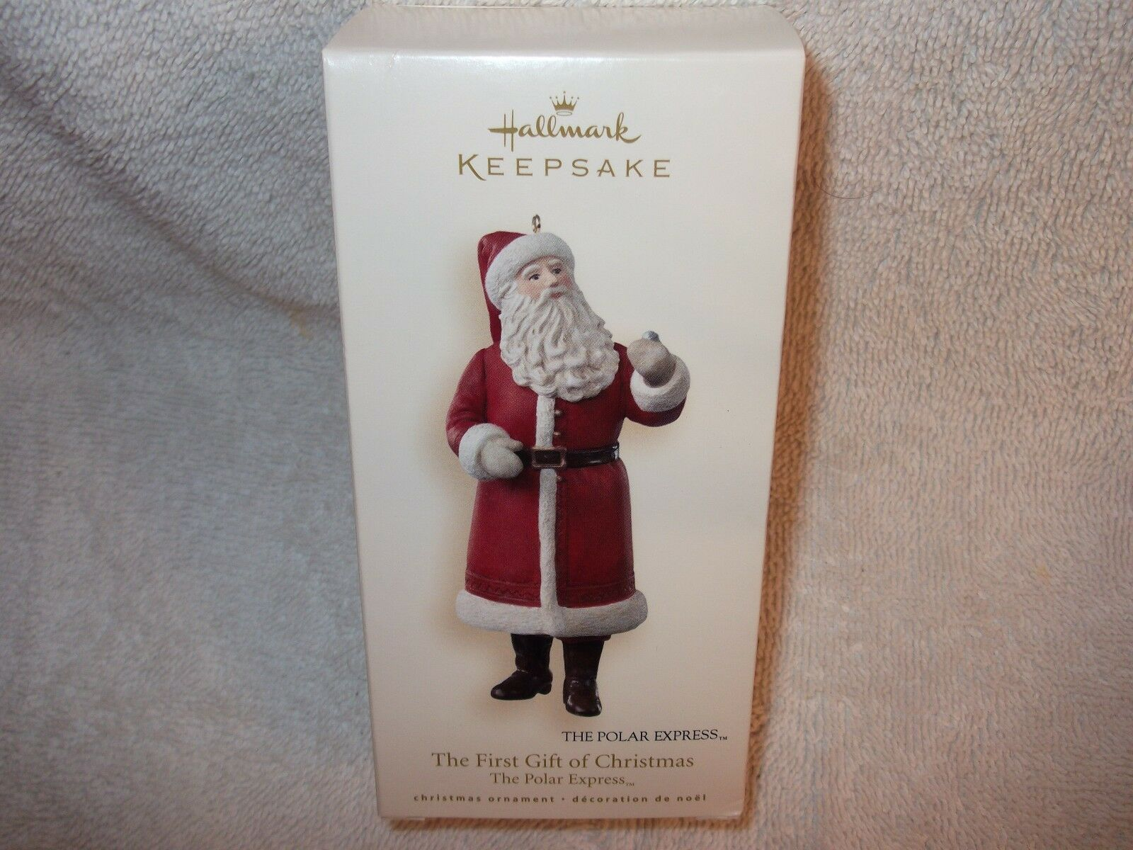 hallmark keepsake 2007 the first gift of christmas the polar express ornament
