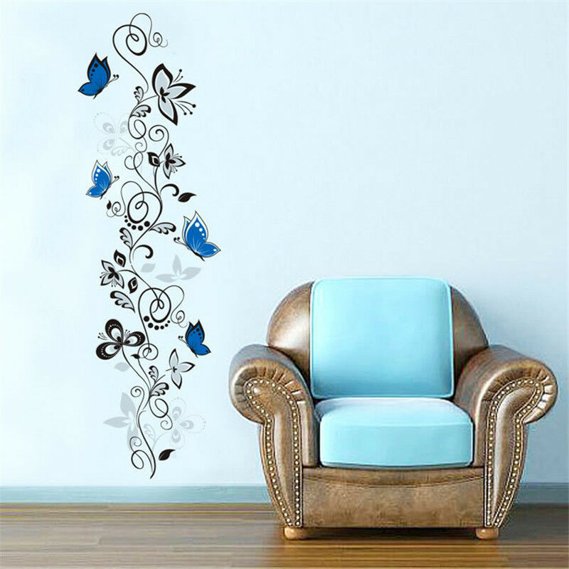 Flower Rattan Diy Home Bedroom Decor Removable Wall Sticker Decal Decoration Eur 2 64