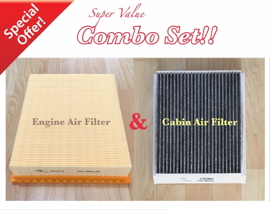Enginecarbonized Cabin Air Filter For Ford Edge Fusionmkz   Of Free Shipping