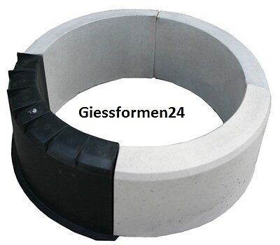 eine schalungsform beton gips giessformen f r garten randstein rundbogen top eur 7 60. Black Bedroom Furniture Sets. Home Design Ideas