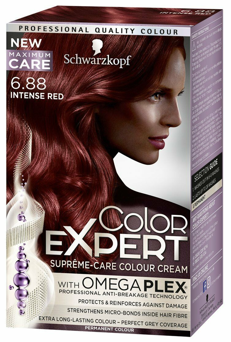 Schwarzkopf color expert with omega plex 688 intense red schwarzkopf color expert with omega plex 688 intense red permanent colour 1 of 1 see more nvjuhfo Images