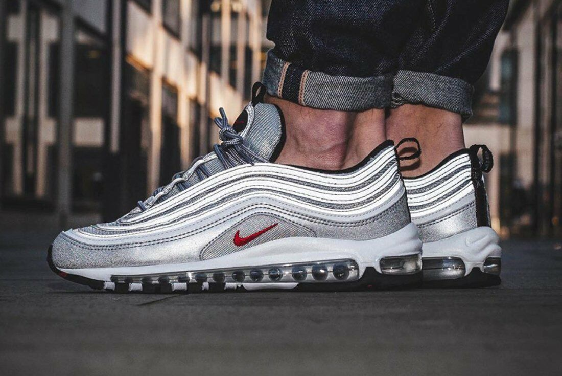 nike air max 97 og qs silver bullet limited rare. Black Bedroom Furniture Sets. Home Design Ideas