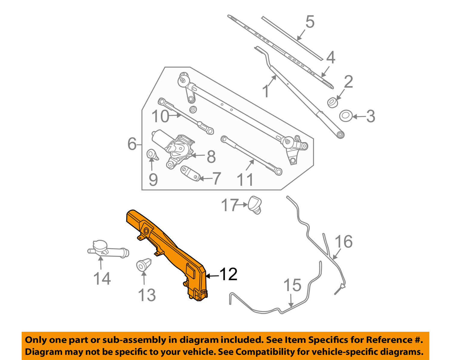 Nissan Sentra Service Manual: Wiper washer