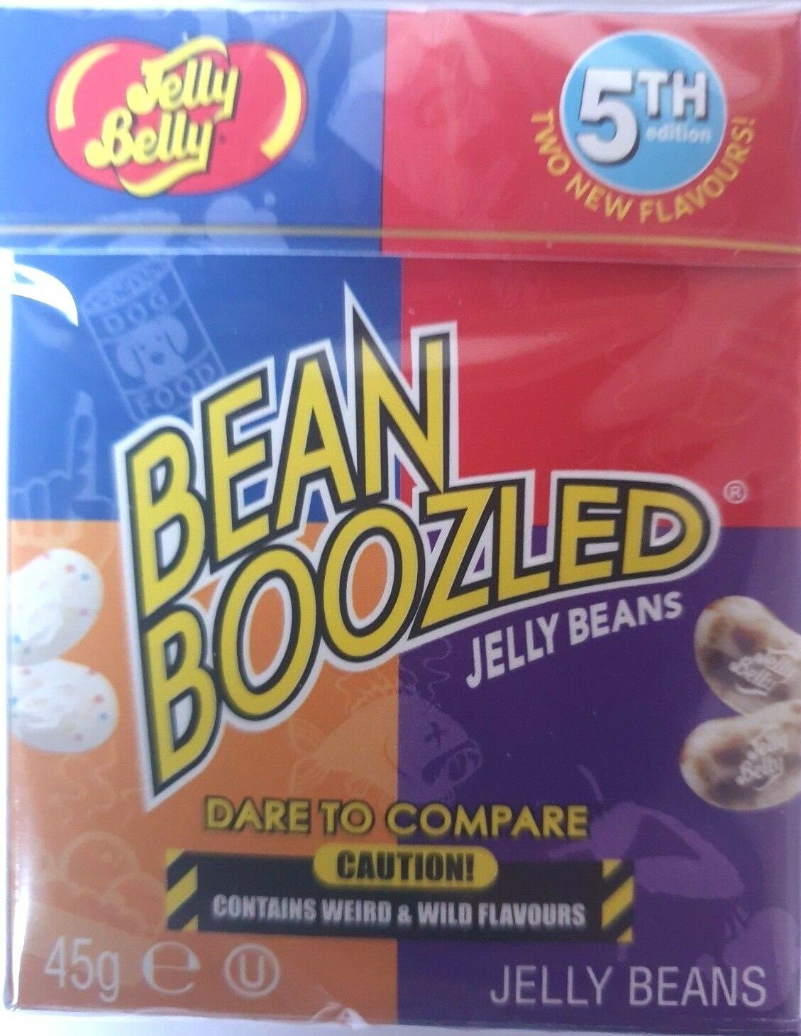 1x Bean Boozled 3rd Edition 45g American Hard Candy Sweets