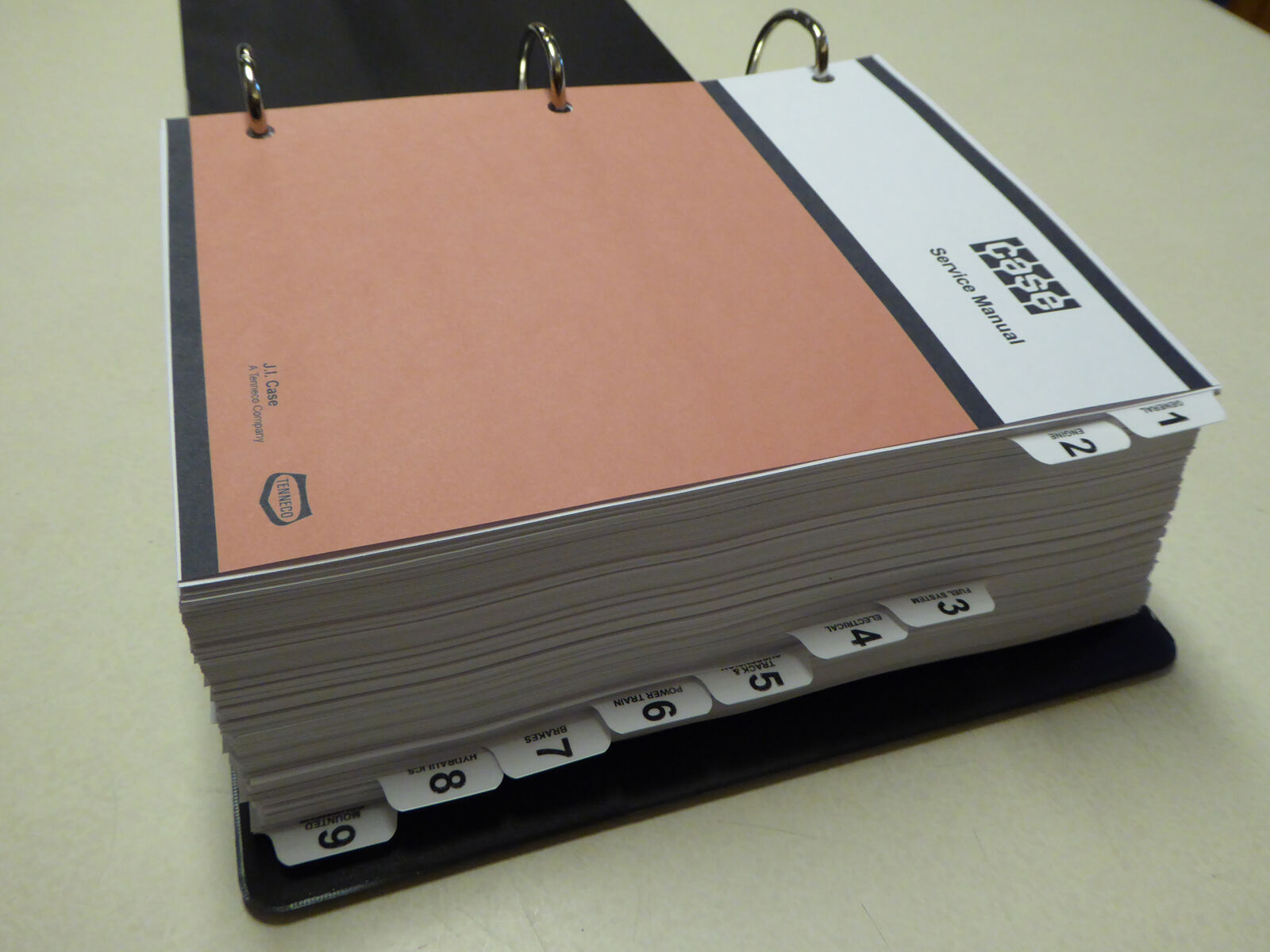 Case 1080 1080b Excavator Service Manual Repair Shop Book New With Wiring Diagrams Binder Huge 1 Of 12only 2 Available