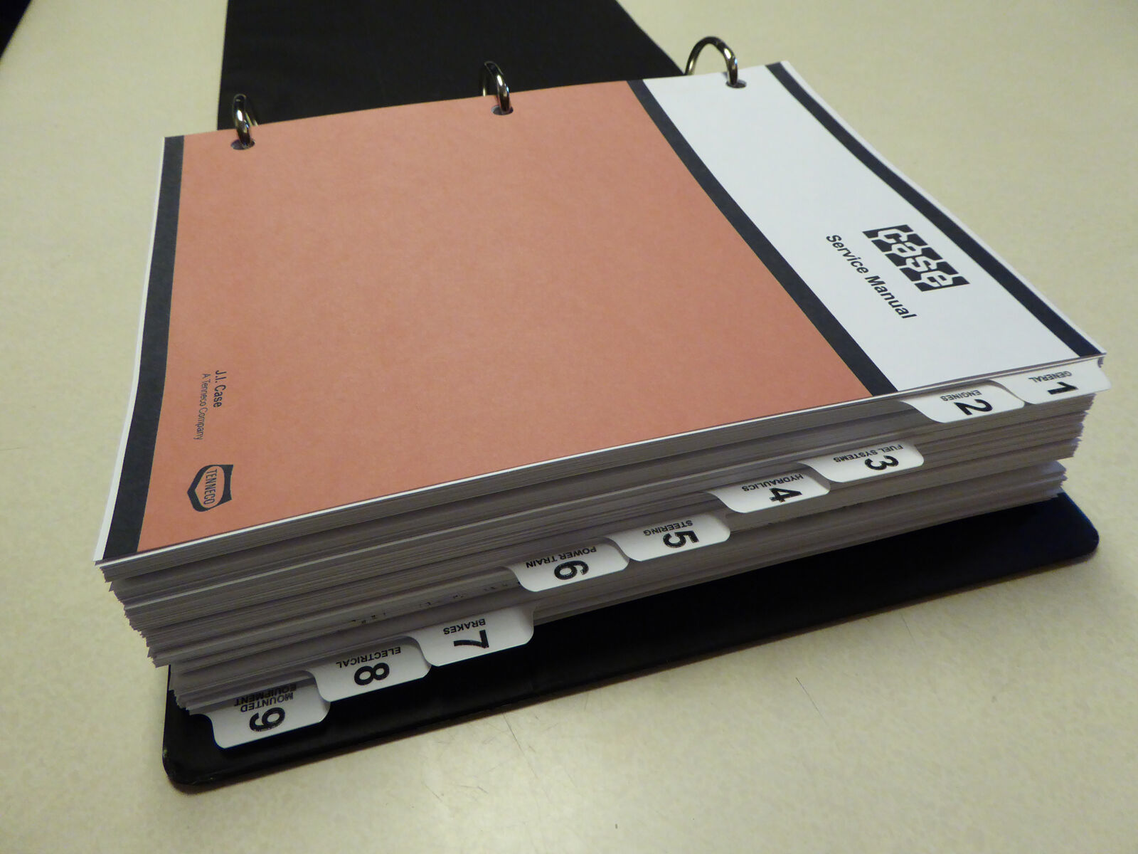 1 of 12Only 2 available Case W14 Articulated Loader Service Manual Repair  Shop Book ...