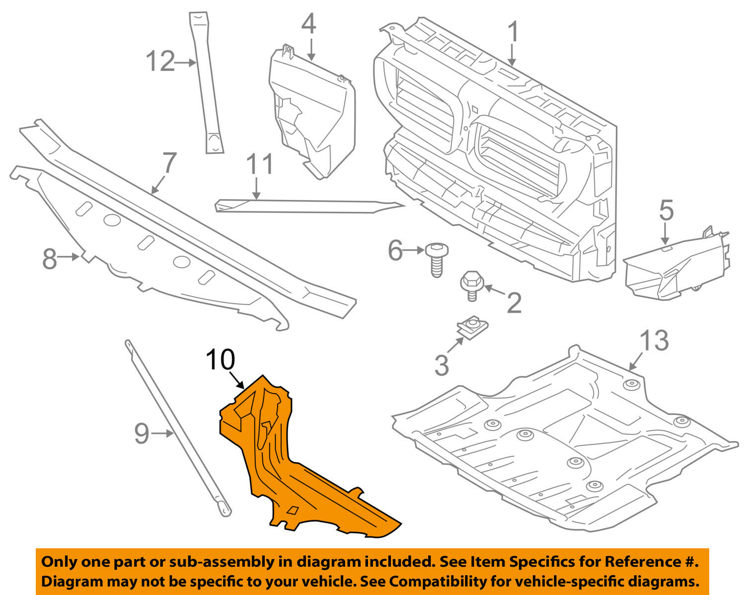 Bmw 528i Radiator Diagram Electrical Wiring Diagrams 2008 Engine Oem 11 16 Core Support Outer Right 1995 525i
