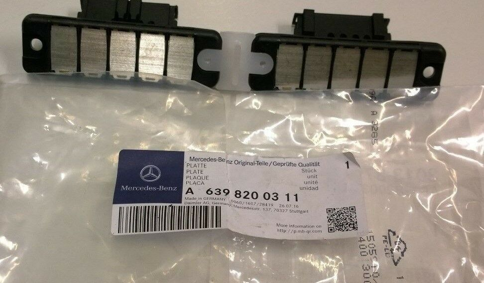 New genuine mercedes benz w639 vito side loading door for Mercedes benz financial contact