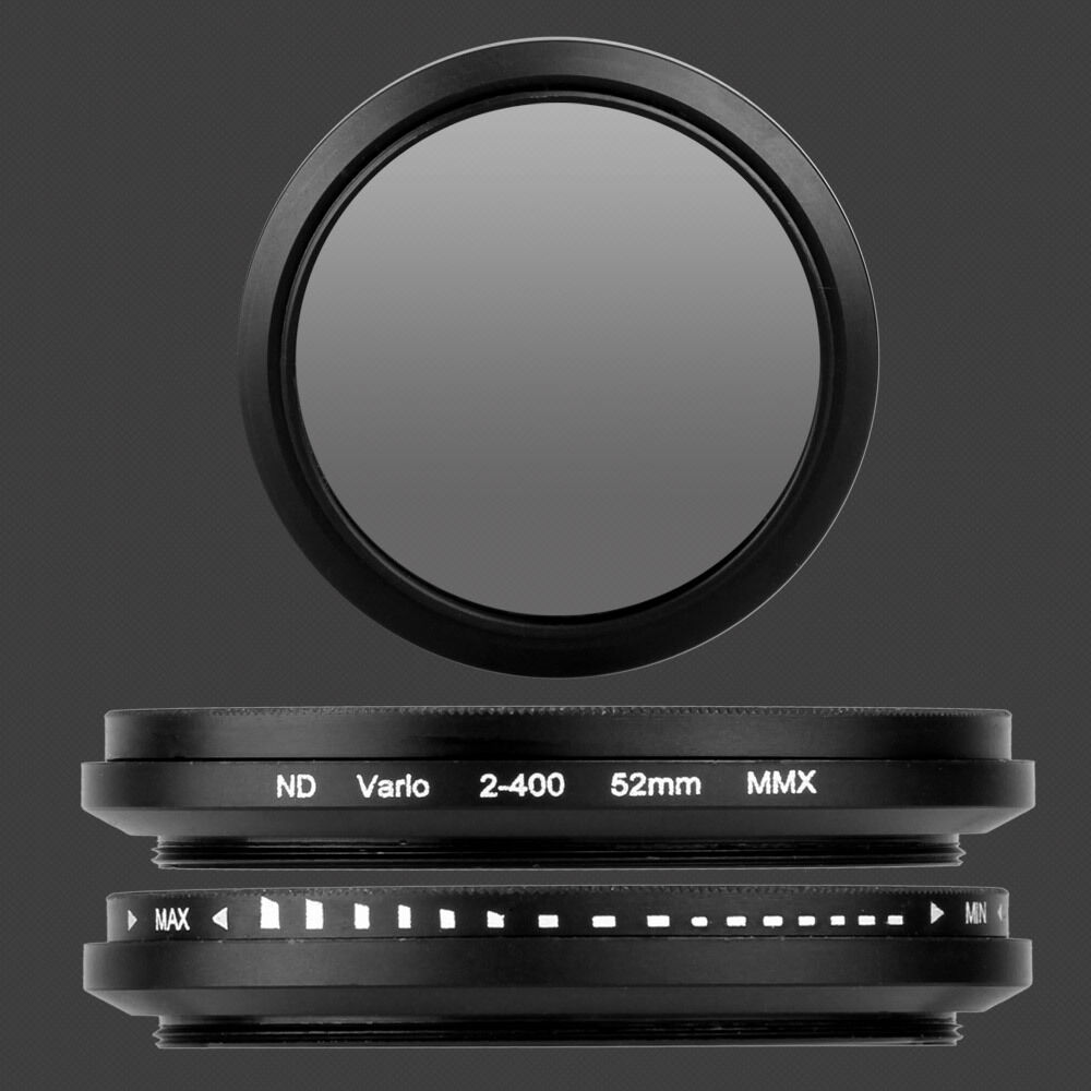 52 Mm Slim Variable Neutral Density Nd Fader Filter Len Nd2 To Nd400 Adjustable 2 400 49mm 49 Fotga For Nikon 1 Of 5only Available