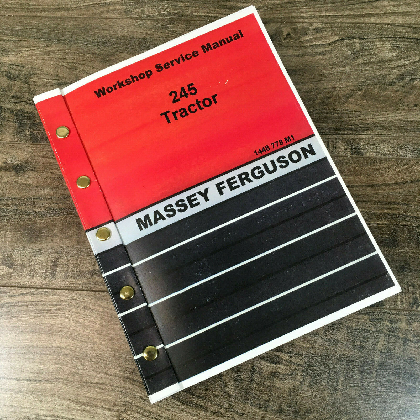 Massey Ferguson Mf 245 Tractor Service Repair Manual Technical Shop Book 1  of 8Only 2 available ...