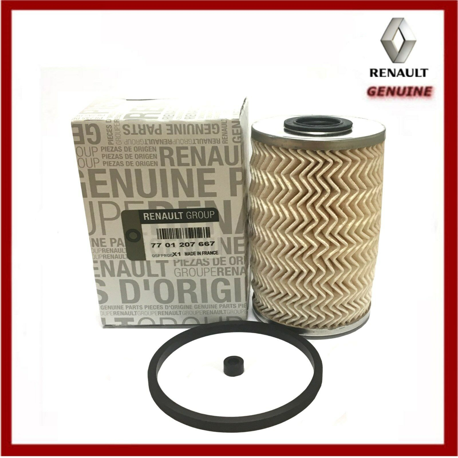 Genuine Renault Trafic Master Dci Diesel Fuel Filter New Deisel Mann Bases 7701207667 1 Of 1free Shipping See More