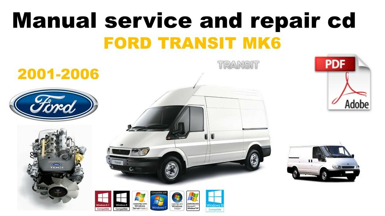 ford transit mk6 2001-2006 workshop service and repair manual cd 1 of 1Only  5 available ...