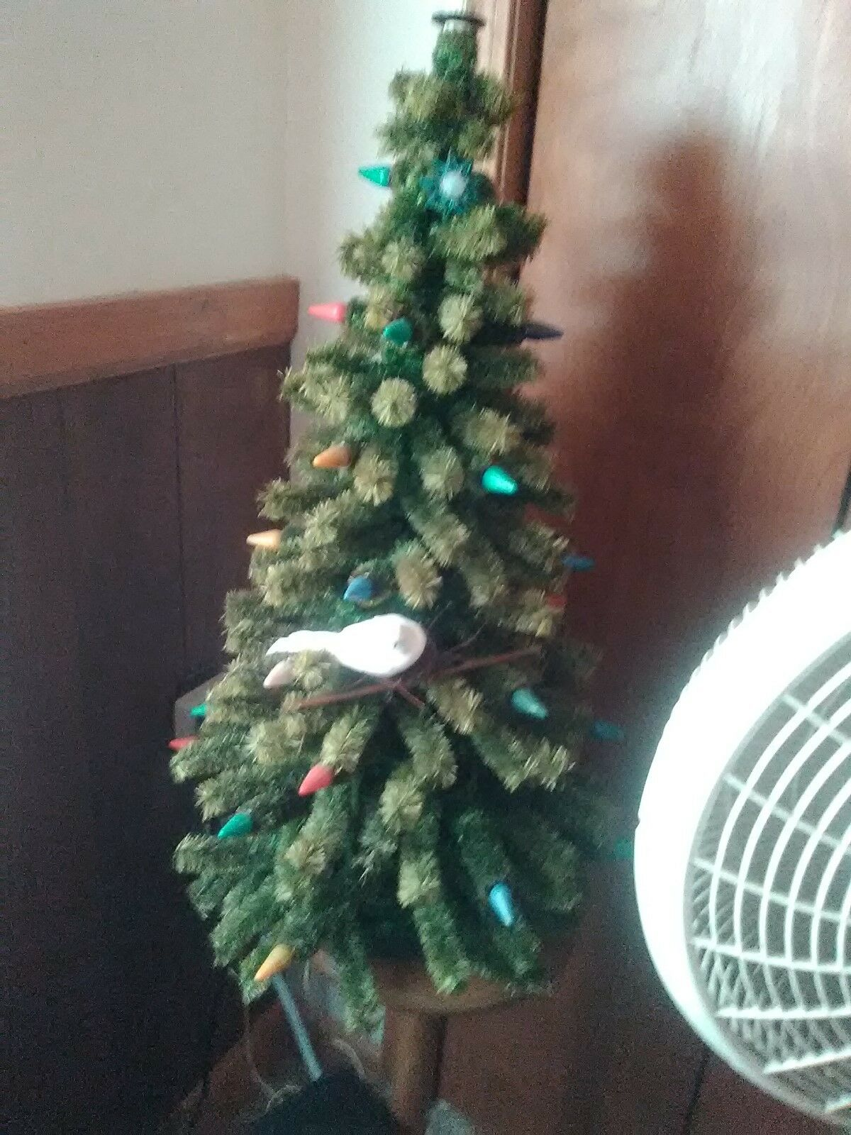 vintage 1930s pre war ii 32 light c 6 matchless star antique christmas tree 1 of 5only 1 available see more