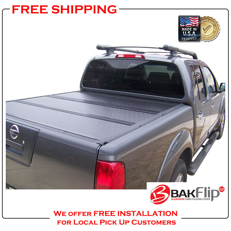 BAKFlip G2 Folding Tonneau Cover For 05 18 Nissan Frontier 5u0027 Bed Cover  226506 1 Of 5Only 1 Available See More