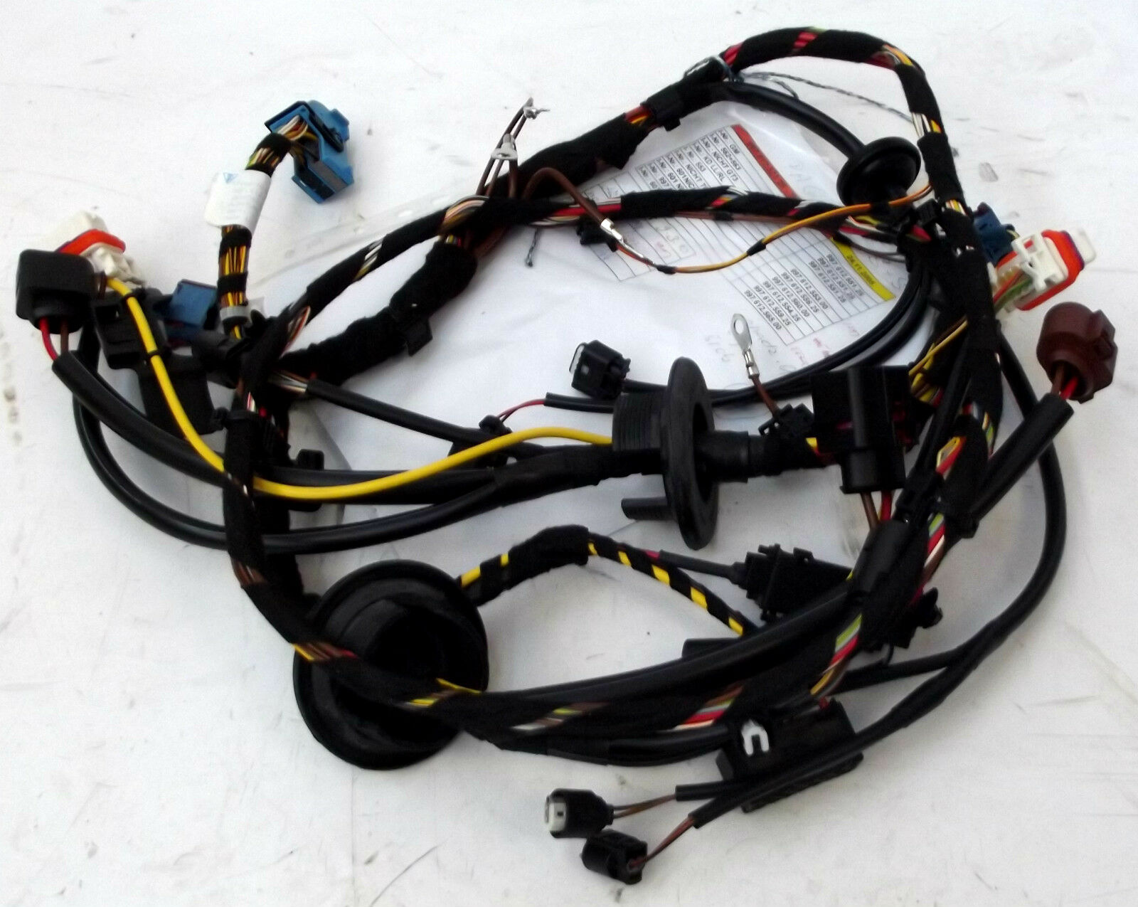 Genuine Porsche 997 Carrera Gen Ii Front End Wiring Harness For Cars 911 With Xenon 1 Of 1only Available