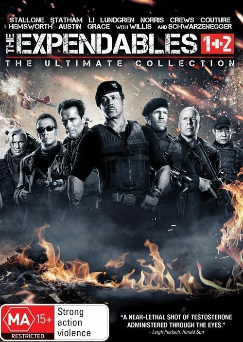 The Expendables / Expendables 2 (DVD, 2017, 2-Disc Set ...