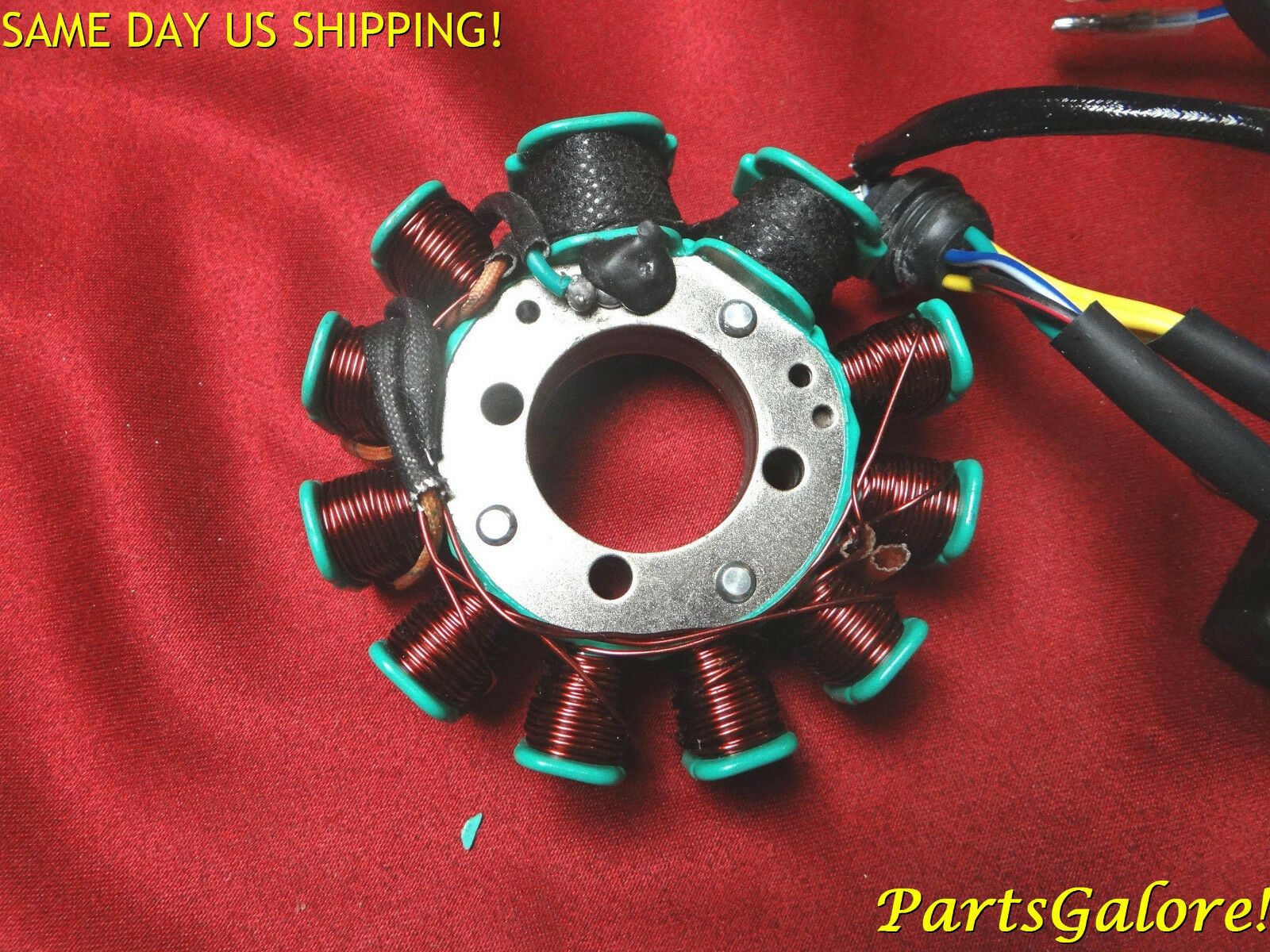 11 Coil 7 Wire Stator Cg125 125cc Cg150 150cc Honda Chinese Atv Wiring 1 Of 8only 2 Available
