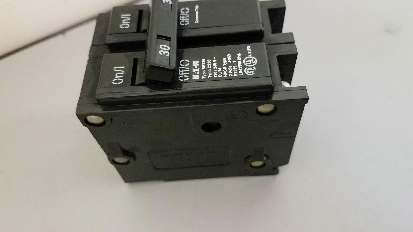 New Eaton Cutler Hammer Br230 C230 30 Amp Circuit Breaker 120 240v Arc Fault 15 240 Volt Ac 1pole Plugon 2pole 1 Of 3free Shipping