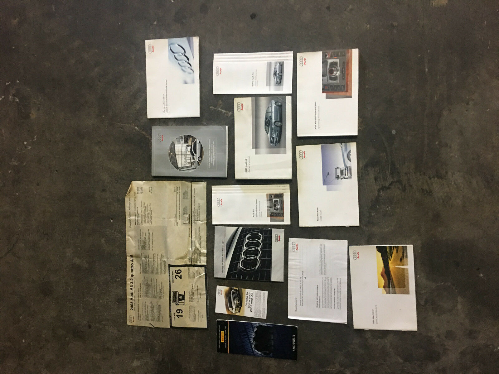 audi a6 c6 owners manual complete 2005 2009 compatibility 2005 with rh picclick com Audi A5 Manual 2005 audi a6 4.2 owners manual