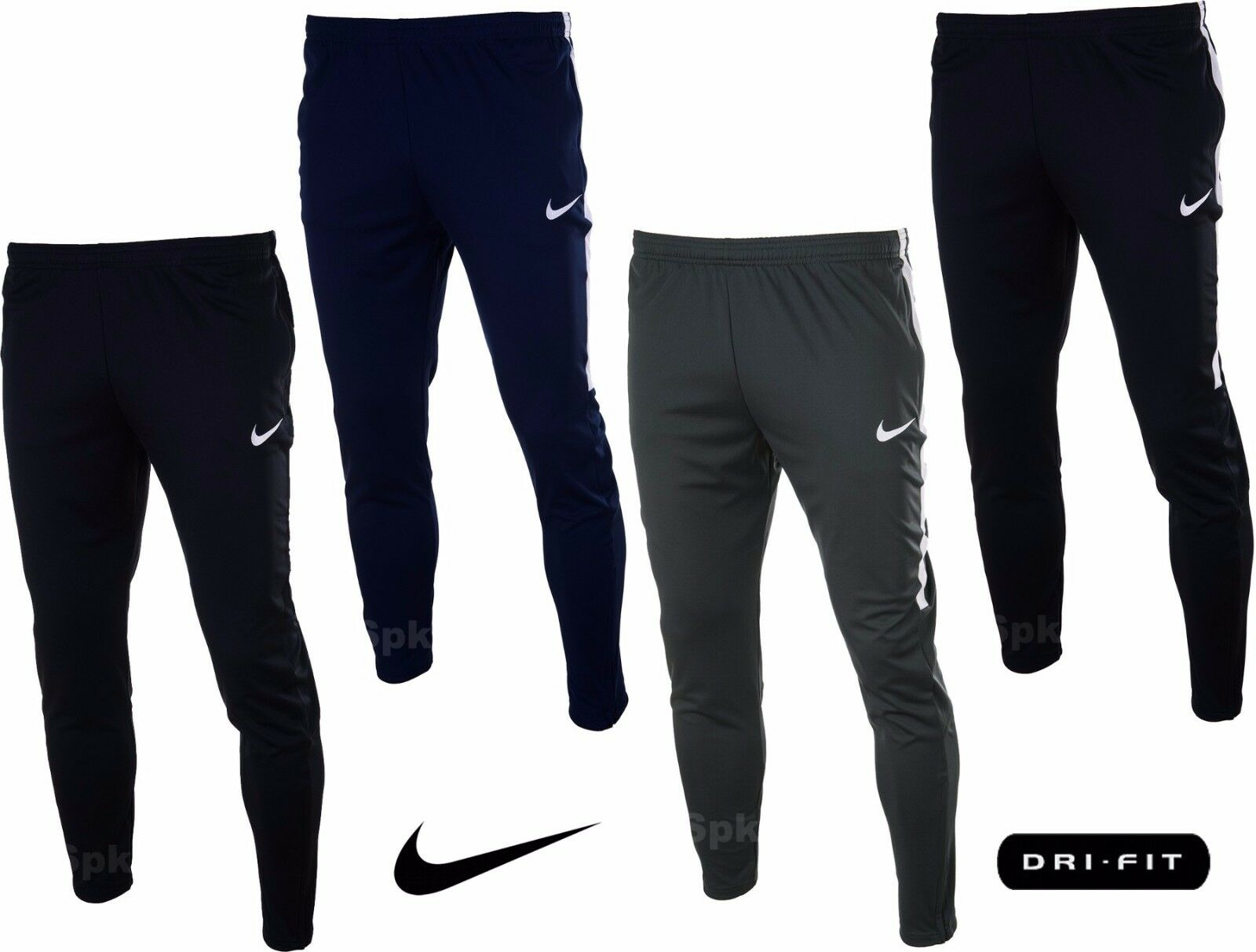 nike mens training tracksuit slim bottoms pants exercise football running sports. Black Bedroom Furniture Sets. Home Design Ideas