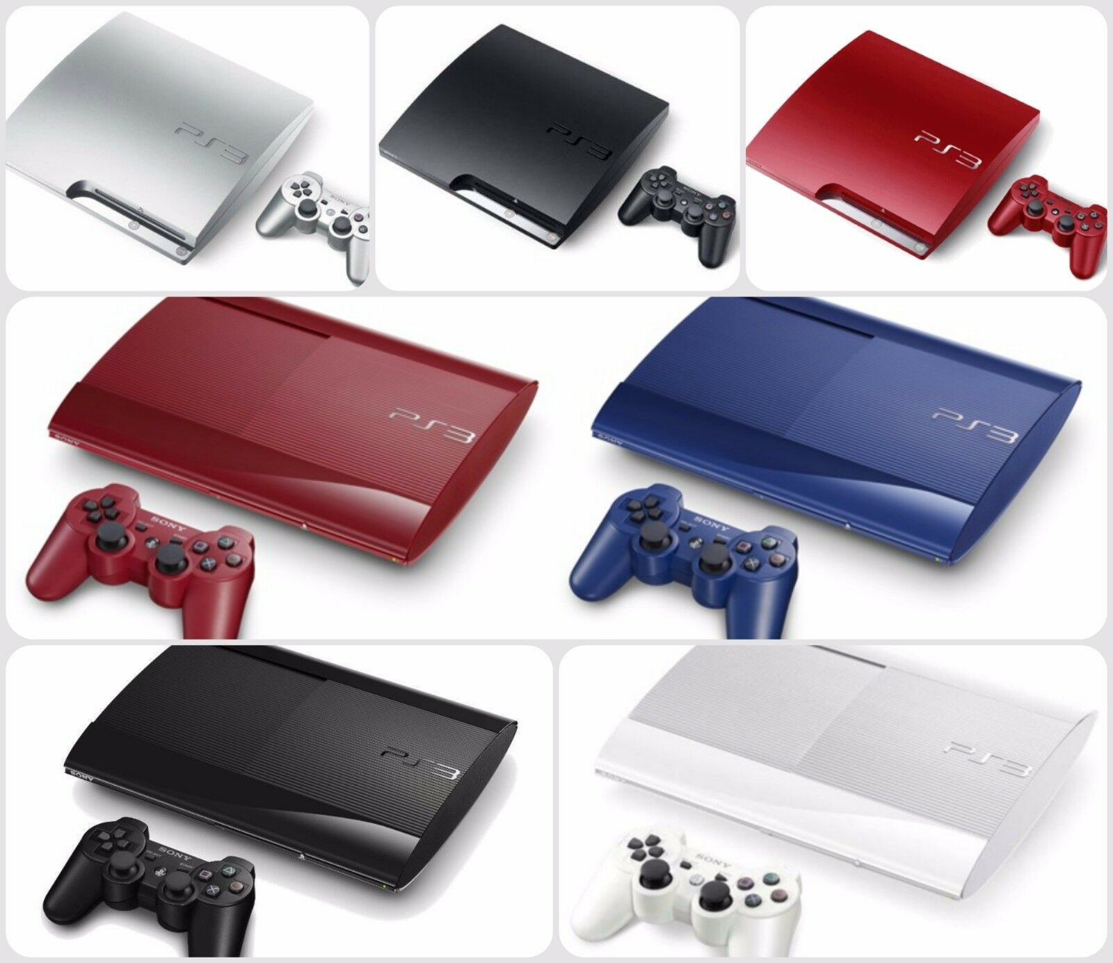 Sony playstation 3 ps3 console limited edition pre owned good condition picclick uk - Ps3 limited edition console ...