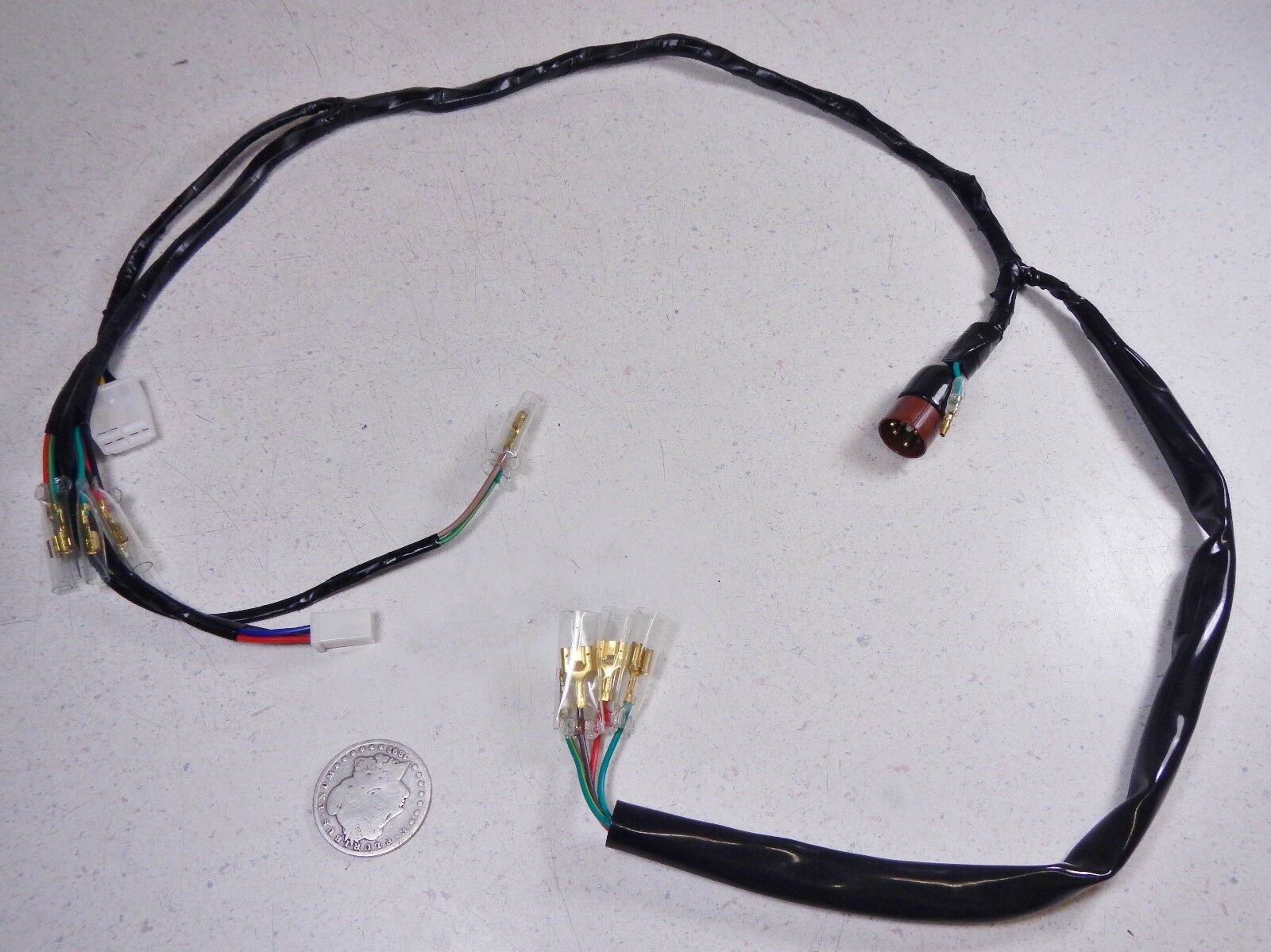 Honda Ct70 70 Ct70h K0 Trail St50 St 50 Dax Main Wiring Harness 0529 1 Of 6only Available