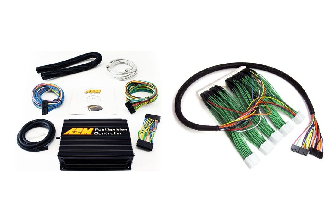 Fits Nissan Skyline Rb26 Aem Fic Fuel Ignition Controller Boomslang Wiring Harness 1 Of 4only Available