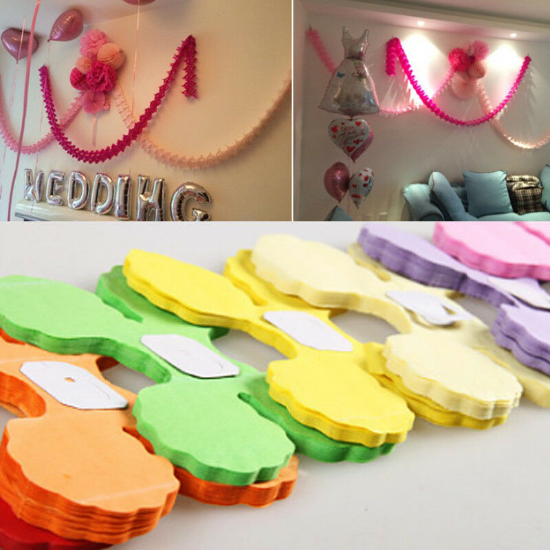 3m tissue hanging paper flower garland birthday party home 3m tissue hanging paper flower garland birthday party home decoration hot 1 of 6free shipping mightylinksfo