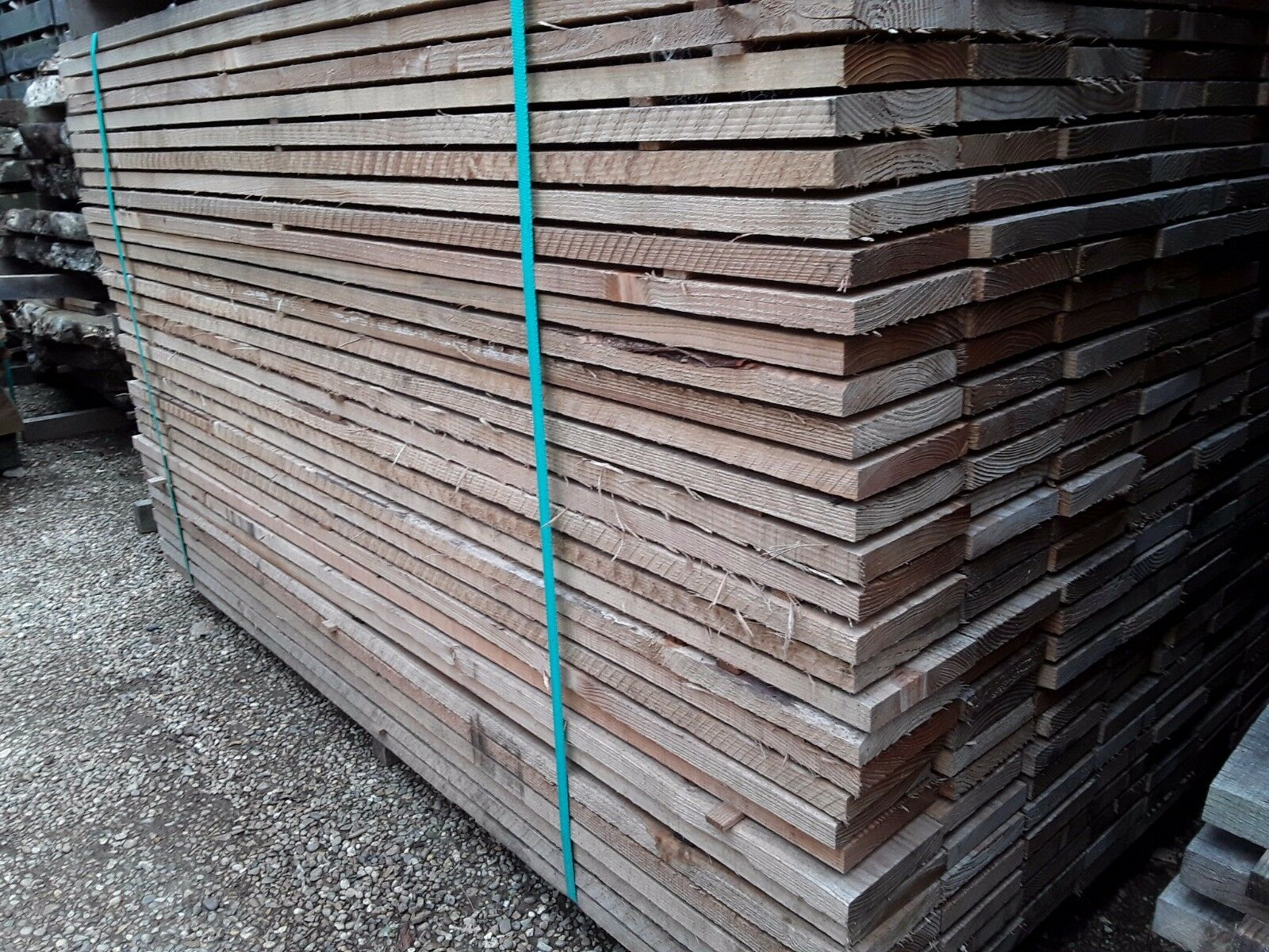 Softwood timber sawn mixed larch douglas fir boards for Softwood decking boards