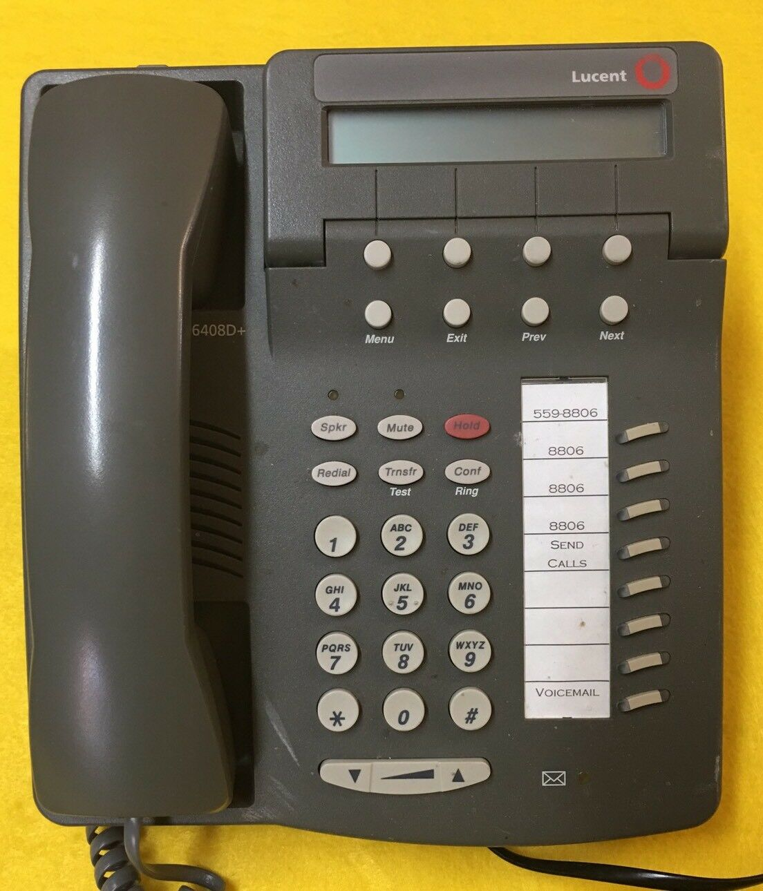 Lucent Avaya 6408 6408D+ Digital Business Telephone Phone Handset 1 of  4Only 3 available ...