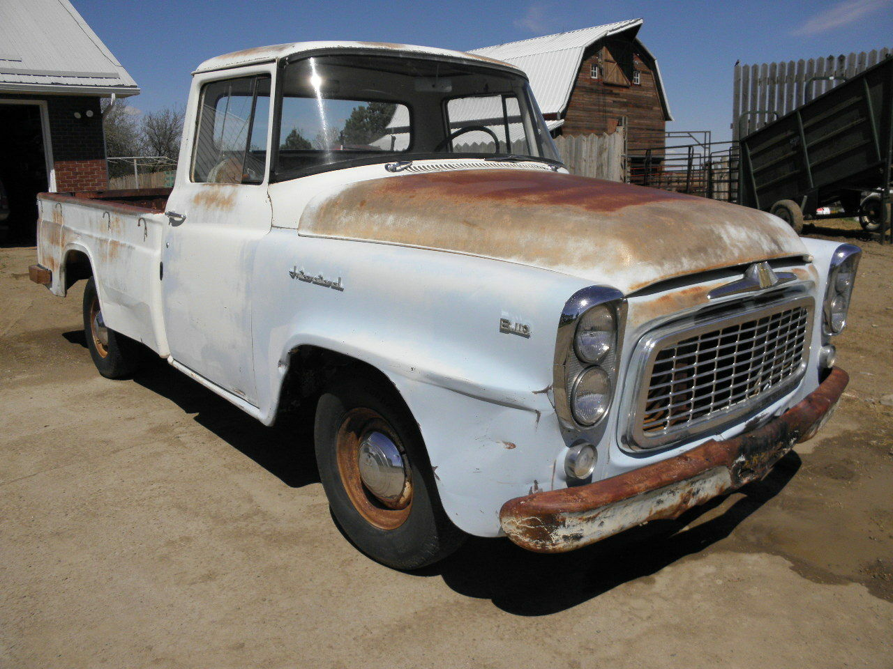 1959 1960 International B 110 Pickup Truck 120 L R S A 1950 1954 Ford F100 Gas Tank 1 Of 12only Available