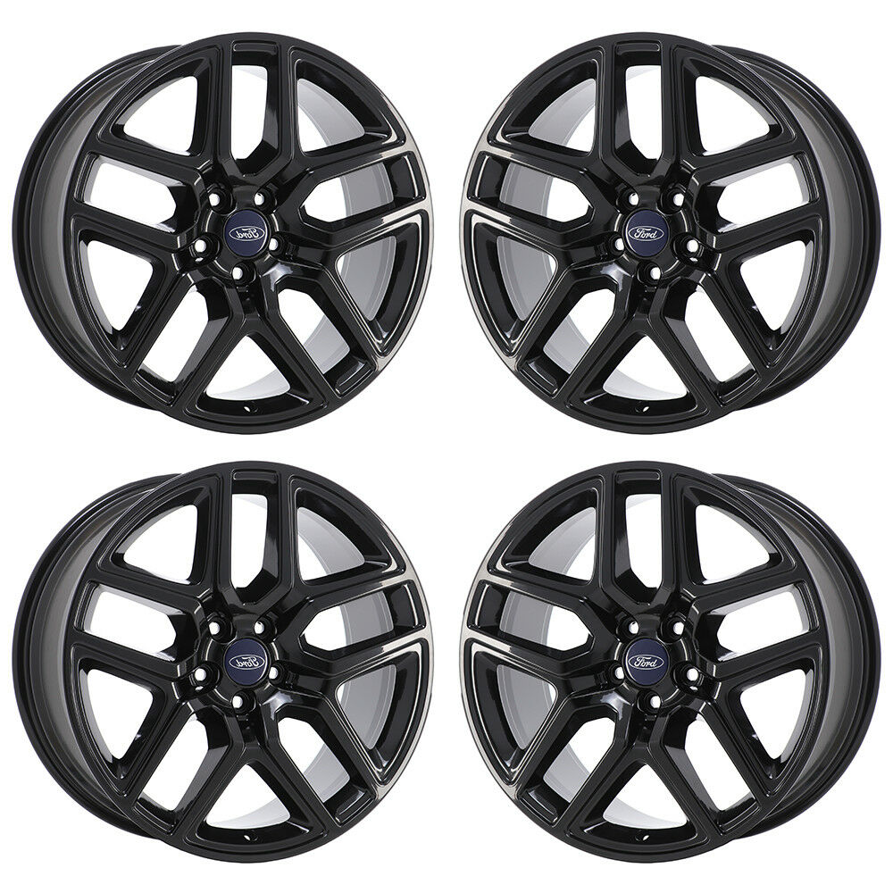 20 ford explorer sport black wheels rims factory oem 2016 2017 2018 1 of 2free shipping publicscrutiny Images