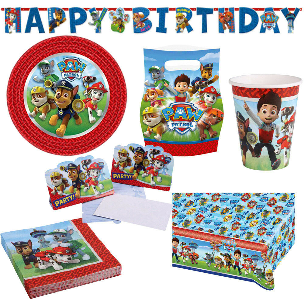 paw patrol kindergeburtstag auswahl deko party dekoration geburtstag neu eur 2 49 picclick de. Black Bedroom Furniture Sets. Home Design Ideas