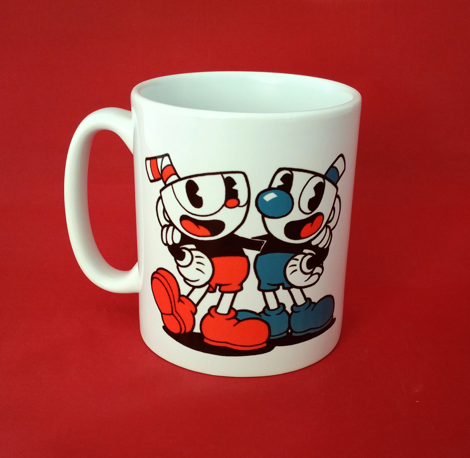 Cuphead Video Game Pc Xbox Fanart Inspired Coffee Tea Mug