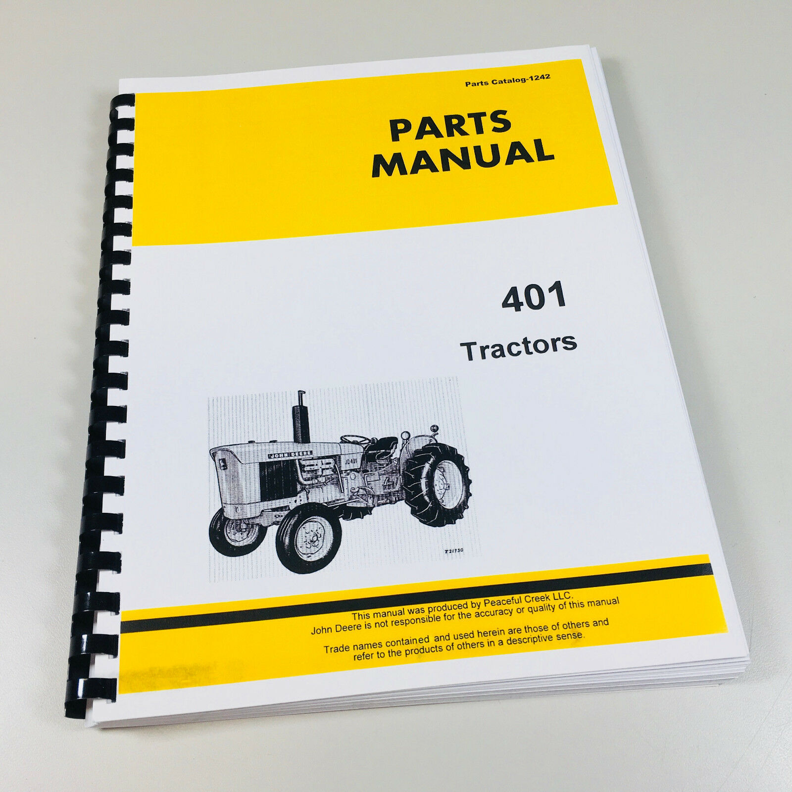 Parts Manual For John Deere 401 Jd401 Tractor Catalog Exploded Views  Assembly 1 of 4FREE Shipping ...