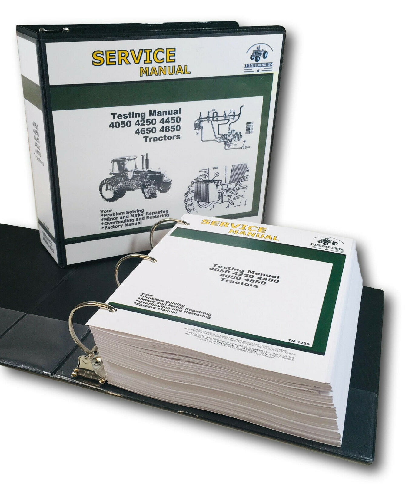 testing service manual for john deere 4050 4250 4450 4650 4850 rh picclick com