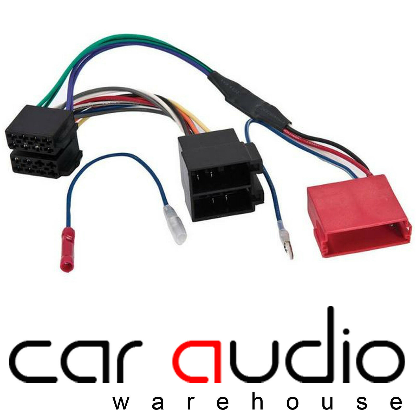 Audi A3 A4 A6 Tt Rear Speaker Amplified Bypass Car Stereo Wiring Harness Cable 1 Of 1free Shipping See More