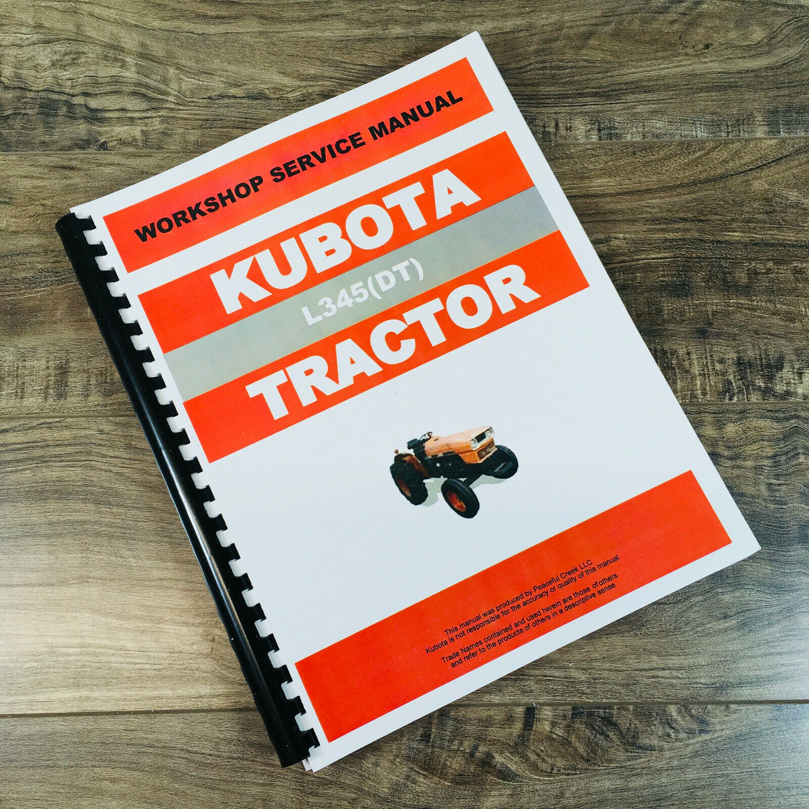Kubota L345Dt L345 Tractor Service Repair Manual Technical Shop Book  Overhaul 1 of 8FREE Shipping ...